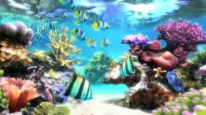sim aquarium screensaver live