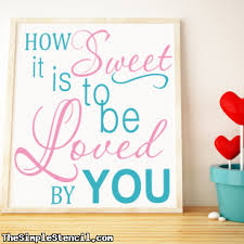How Sweet It Is To Be Loved By You James Taylor Lyrics Vinyl Wall Decal