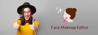 top 10 face makeup editor applications