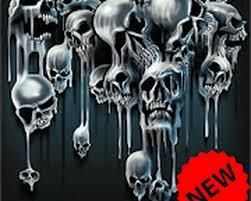 skull wallpaper android free