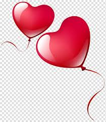 two red heart balloons heart balloon