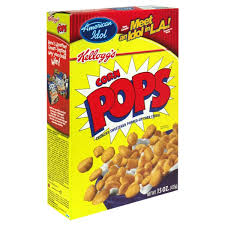 kellogg s corn pops cereal