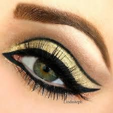 gold eye makeup 2016
