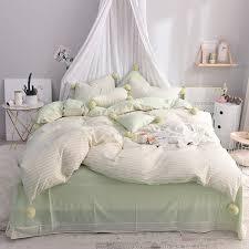 pink green cute girls bedding set twin