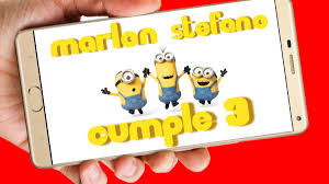 Minions Video Tarjeta Invitacion Cumpleanos Whatsapp Digital