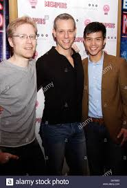 Anthony Rapp, Adam Pascal and Telly Leung After party celebrating the Stock  Photo - Alamy