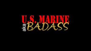 Us Marine Aka Badass Vinyl Car Decal Marines Marine Corps Etsy