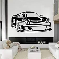 Amazon Com Fashion Car Wall Decal Style Art Doors And Windows Vinyl Stickers Teen Bedroom Garage Home Decoration Wallpaper 57x30 Cm Baby