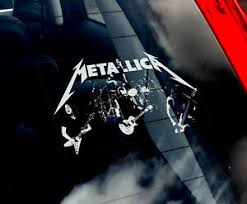 Metallica Car Window Sticker Band Decal Laptop Rock Music Vinyl Sign Art V01 Ebay
