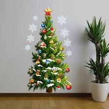 Shop Green Christmas Tree Vinyl Wall Window Decal Sticker 32 X 17 Overstock 18216269
