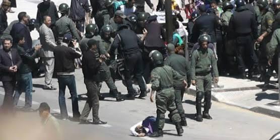 """Resultado de imagen de represion en el sahara"""""""