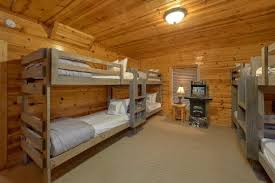 The Woodsy Rest A Sevierville Family Cabin With Extra Sleeping Space