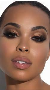 makeup look natural for brown skin