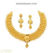 22k gold necklace sets gold ring