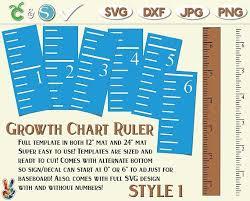 Diy Growth Chart Ruler Vinyl Decal Kit Double Sided Style Etsy Growth Chart Ruler Growth Chart Growth Chart Ruler Diy