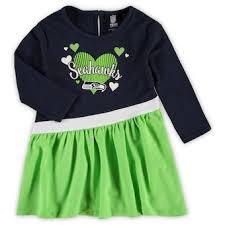 Seattle Seahawks Kids Dresses Kids Skirts Seahawks Dress Official Seattle Seahawks Shop