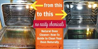 how to clean your oven naturally even