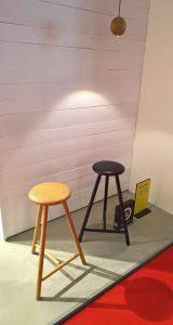 Linea Perch Stool by Wesley Walters & Salla Luhtasela for Nikari Milan  Furniture Fair 2017 - smow Blog
