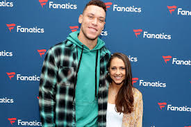 Aaron Judge in Miami with Samantha ...
