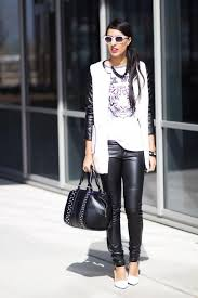combine leather pants for any occasion