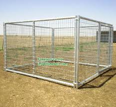 Large Dog Kennel Panels Dog Runs Pens In Galvanized Or Black Coating Buy Dog Kennel Gate Panel Dog Run Fence Panels Indoor Dog Run Product On Alibaba Com