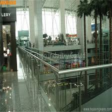 316 stainless steel glass railing