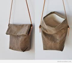 leather bag that you can make at home