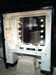 makeup vanity with lights