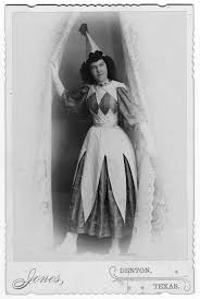 Effie Wright in Costume - The Portal to Texas History