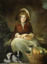 Fruit Girl by James Northcote (1746-1831, United Kingdom ...