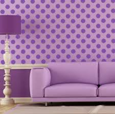 Perfectly Pretty Purple Room Dot Decals