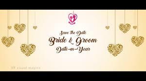 wedding invitation video you