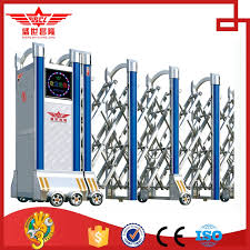 China Stainless Steel Electric Retractable Fence Gate J1415 Fence Fencing Electric Aliexpress