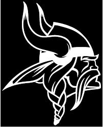 Amazon Com Warrior Vikings Vinyl Sticker Decal 3 2 X 4 White Arts Crafts Sewing