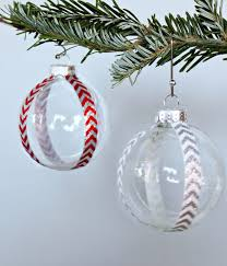 simple ball ornament