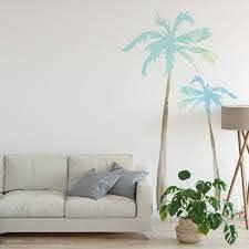 Palm Tree Wall Decals Labeldaddy