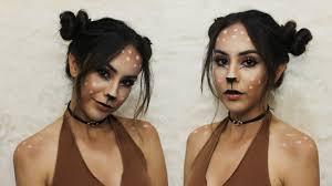 deer fawn makeup tutorial