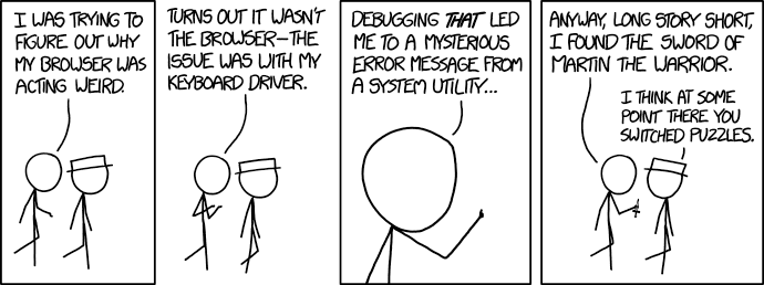 Image result for debugging xkcd""