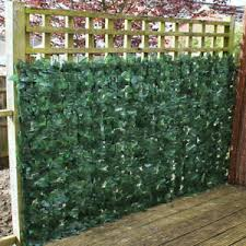 Artificial Hedge Ivy Leaf Panels Garden Fence Roll Privacy Screening Wall 1 X 3m 5060297016776 Ebay
