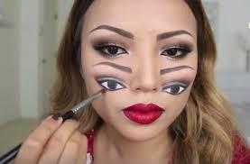 weird eye makeup cat eye makeup