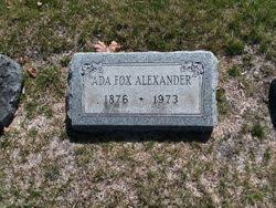Ada Fox Alexander (1876-1973) - Find A Grave Memorial