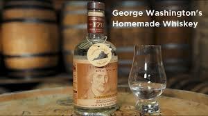 george washington s homemade whisky