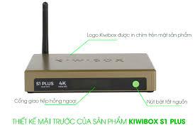 Kiwibox S1 Plus - Thiết bị giải trí truyền hình đa phương tiện