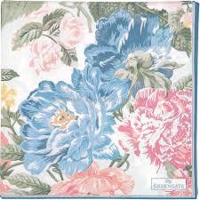 GreenGate Paper Napkins Adele White Large 20 pcs