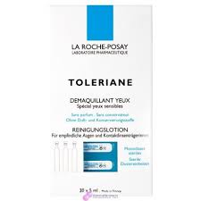 toleriane ultra eye makeup and face