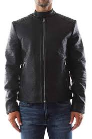 calvin klein j30j309723 leather jacket