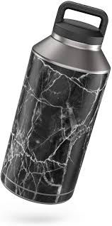 Amazon Com Black Marble Protector Skin Sticker Compatible With Yeti Rambler 64oz Bottle Ultra Thin Protective Vinyl Decal Wrap Cover