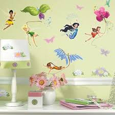 Roommates Disney Fairies Peel Stick Wall Decals With Glitter Bed Bath Beyond