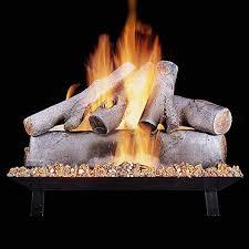 rasmussen 24 inch white birch gas log