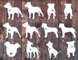 Pitbull Decal Pitbull Sticker Love A Bull Car Decal Pitbull Parent Dog Decal Pitbull Tattoo Dog Decals Dog Tattoos
